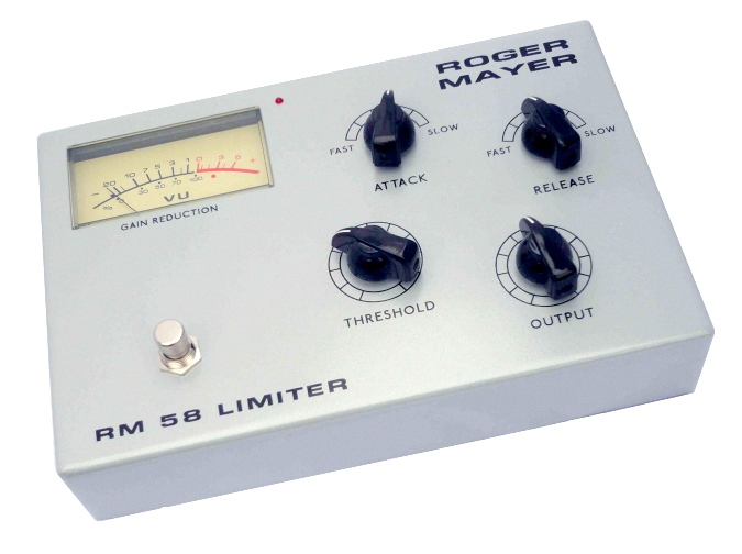 Guitar Effects Pedals by Roger Mayer - RM 58 Limiter